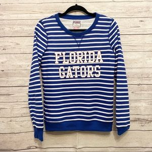 VS Pink   Florida Gators striped sweater